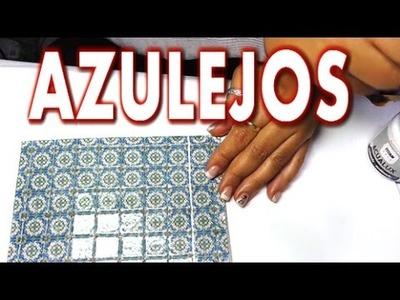 Como Hacer AZULEJOS (version las cosas de la lola)
