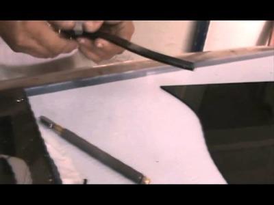 Como hacer un vitral paso 2 de 4
