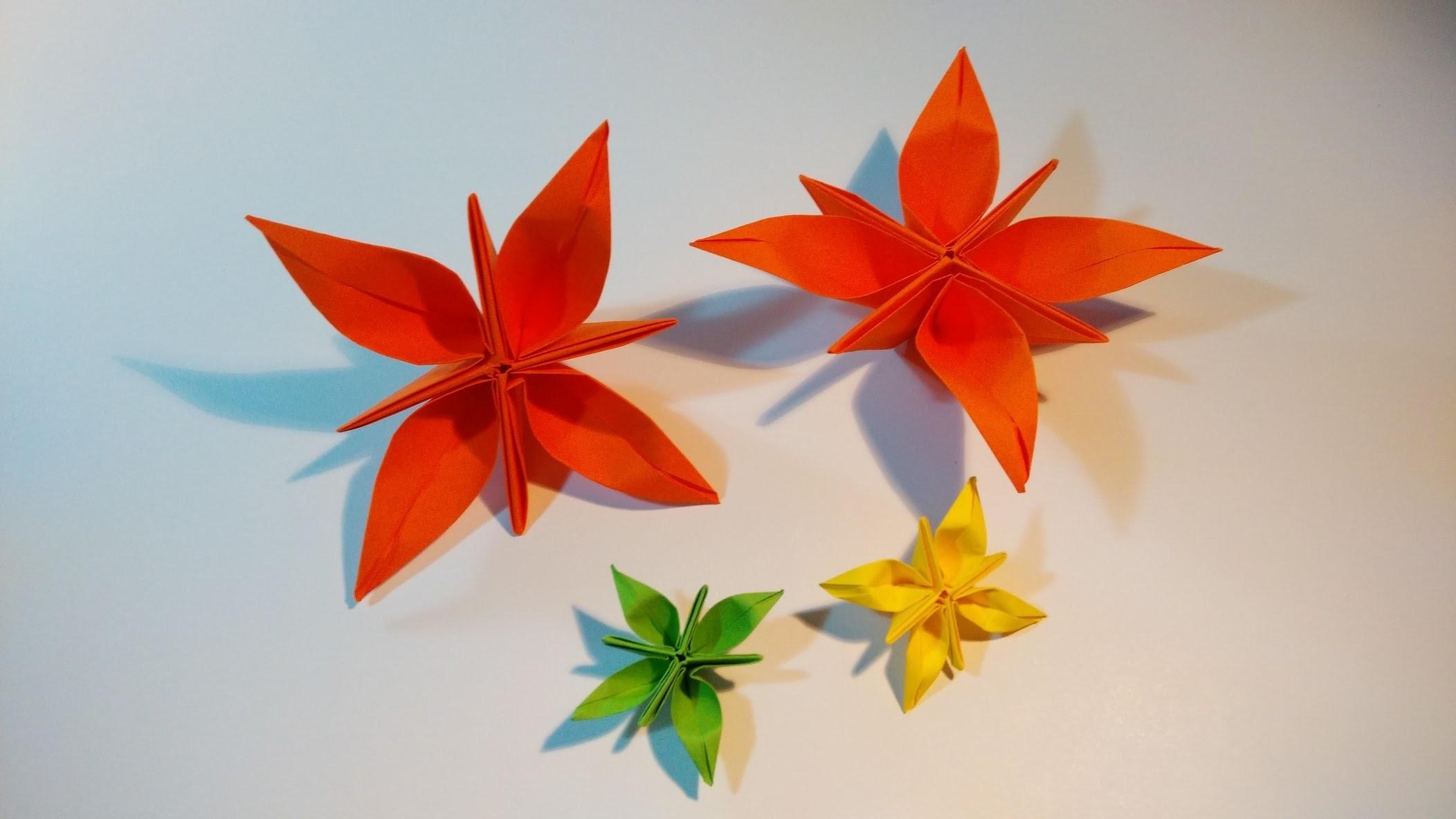 Como hacer una flor de papel (Shining Alice)