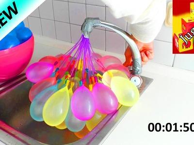 Comparación   Globos de agua