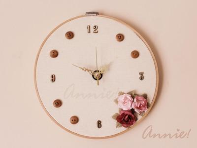 Haz un lindo Reloj de Pared - Annie! ♡