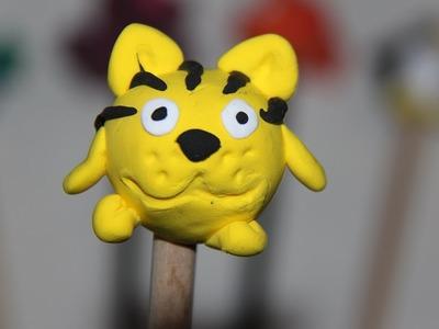 Play doh juguetes haz una capucha tigre con plastilina en 5 minutos paso a paso