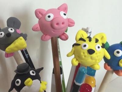 Play doh juguetes haz una capucha cerdo con plastilina en 5 minutos paso a paso