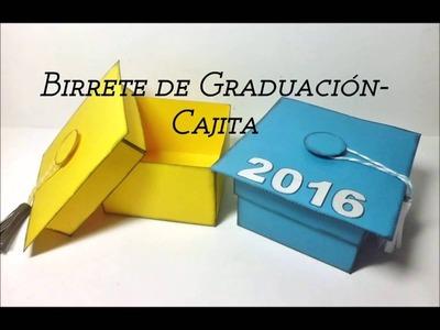 Birrete de Graduación-Cajita