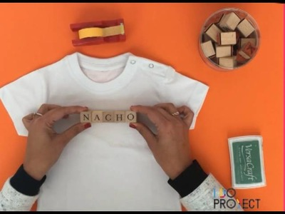 Cómo estampar tu nombre en una camiseta