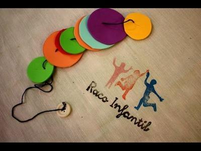 Cómo hacer material para trabajar el Método Montessori Carpeta formas y colores