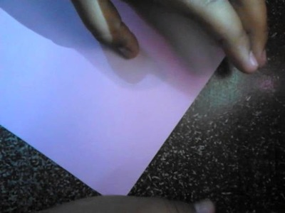 Cómo hacer una flor de papel fácil y rápido