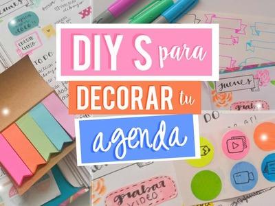 DIYS para decorar tu Agenda #2 | Scrap + More