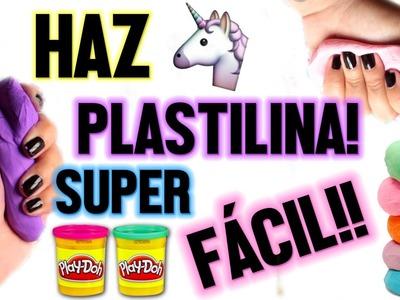 HAZ PLASTILINA SUPER FÁCIL!! ♡ | Andreína González
