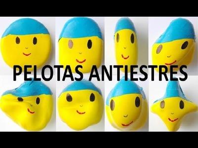 POCOYO moldeable anti stress con globos Pelotas antiestres. SORPRESAS SILVIA