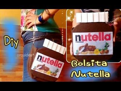BOLSA en forma de Nutella