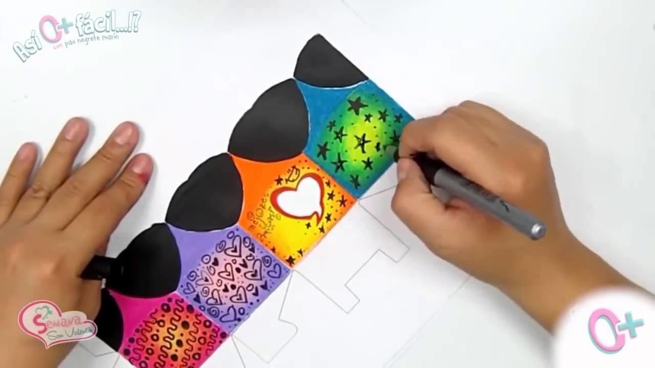 Boxes DIY CREATIVAS! By: Así O Más Fácil