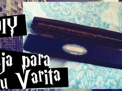 #DIY Literario || DIY Cajita para tu varita de la Saga Harry Potter || Little Pieces Of Hope