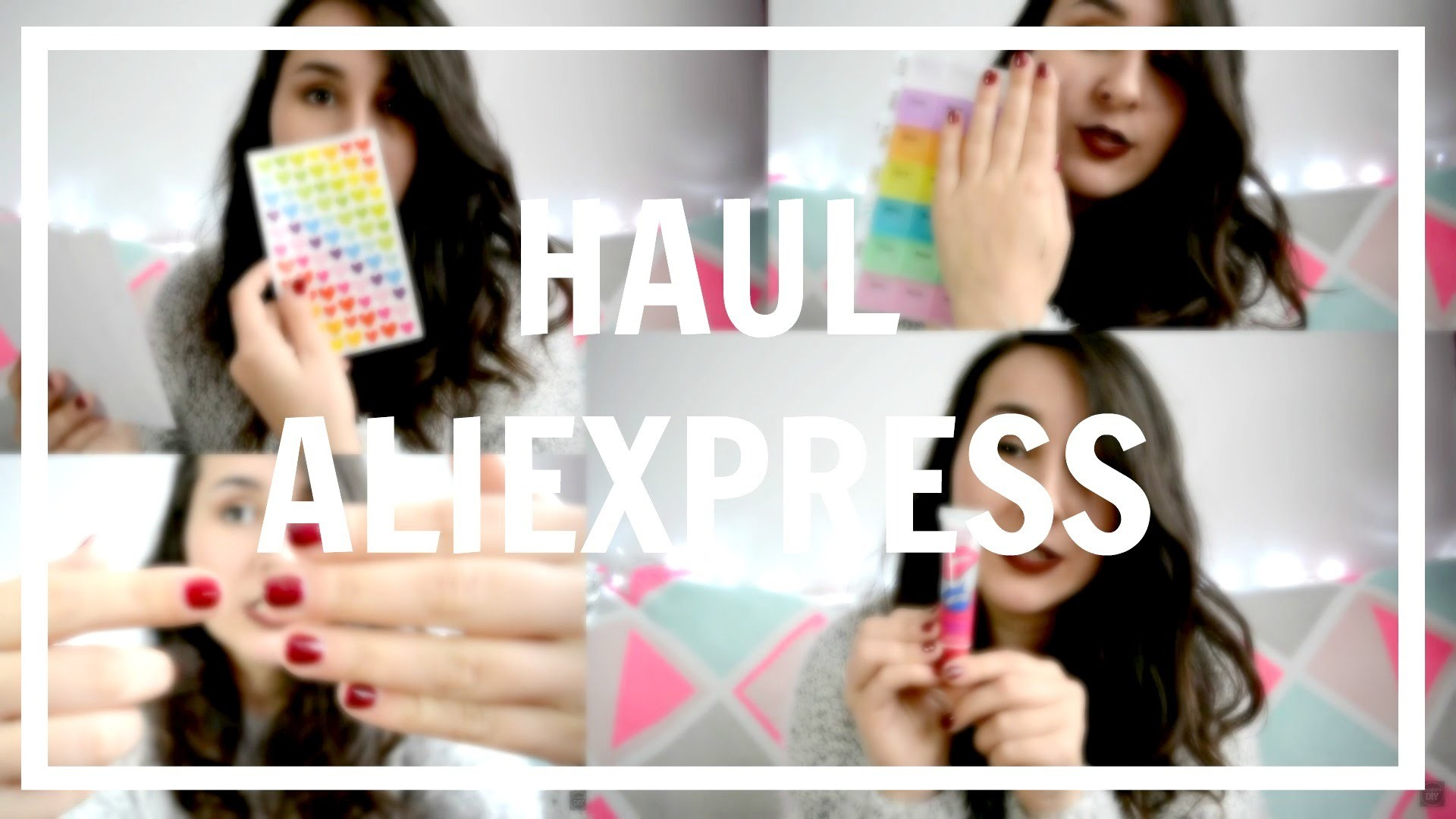 SUPER HAUL ALIEXPRESS 1 (PAPELERIA, BELLEZA, RANDOM. ) | Chicasinsentido DIY