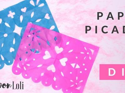 Cómo hacer papel picado | Loli von Loli