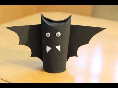 Cómo hacer un murciélago de cartón para Halloween | facilisimo.com