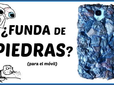Cómo hacer una funda para el celular con ¿Piedras? | Pablo Inventos