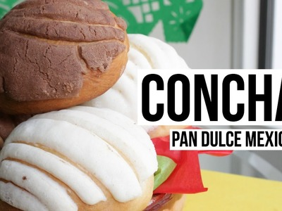 Conchas | Pan Dulce Mexicano Tradicional | RebeO
