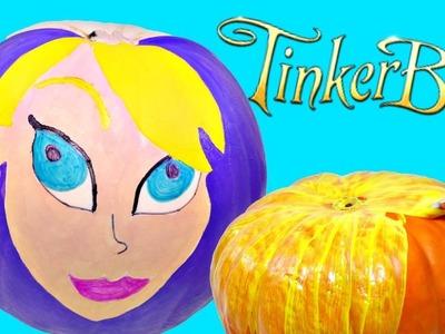 Decora una Calabaza y Combiertela en TinkerBell de Disney