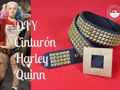 Disfraz casero Harley Quinn Suicide Squad, parte 3: el cinturón
