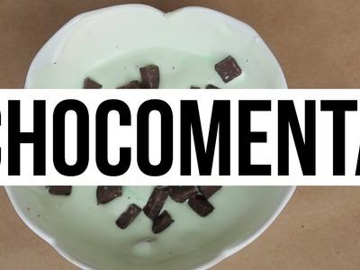 Helado de Menta con Chocolate + Helado de Cajeta | RebeO