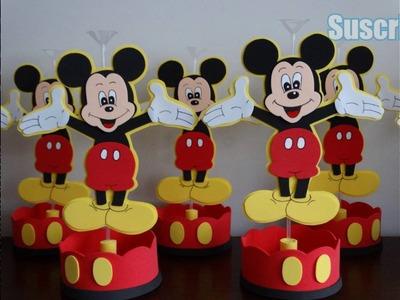 Los Mejores Centros De Mesa De Mickey Mouse