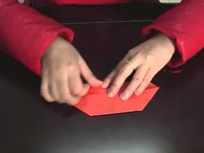 Make a paper phone, hacer teléfono de papel origami 2