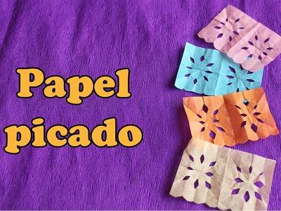 Papel Picado Miniatura  || Diseños Faciles