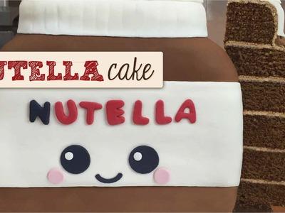 Pastel Bote de Nutella - Nutella Cake. Dacosta's Bakery