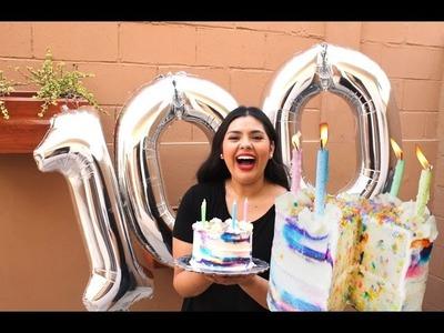 Pastel de Cumpleaños + ¡Somos 100k! | RebeO
