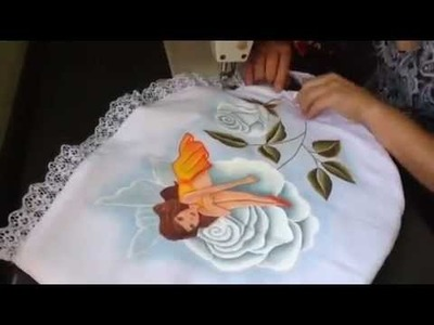 Pintura en tela como armar un juego de baño con cony