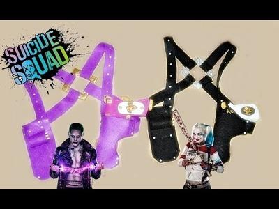 PISTOLERA casera Harley Quinn Y Joker, Diy Suicide Squad COSPLAY - BeagleArts ♥