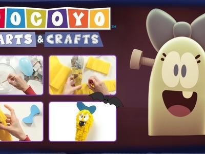 Pocoyo Arts & Crafts: Piñata de Valentina | HALLOWEEN
