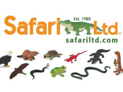 Productos de Safari LTD: Animales y alfombra de juegos