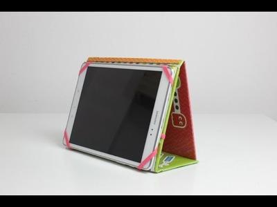 Tutorial: Funda para tablet con cartón fácil y paso a paso | Anita y su mundo scrapbooking