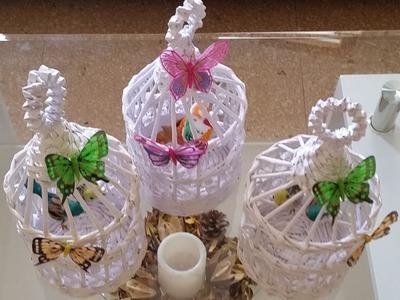 Como hacer una jaula para celebraciones o terrazas y decoracion esterior