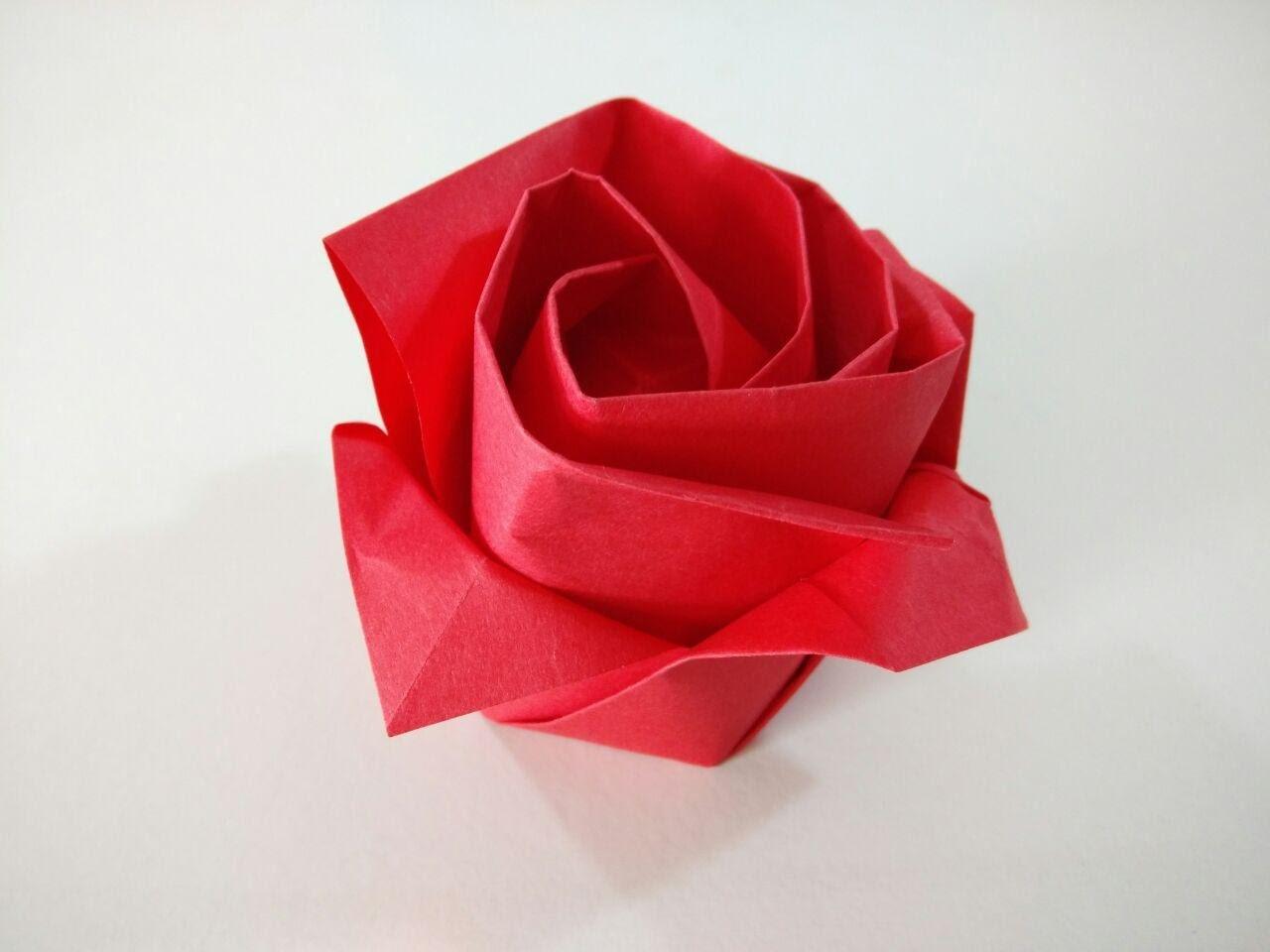 Origami estrellas de papel carta cajita sobre origami - Papel de regalo original ...