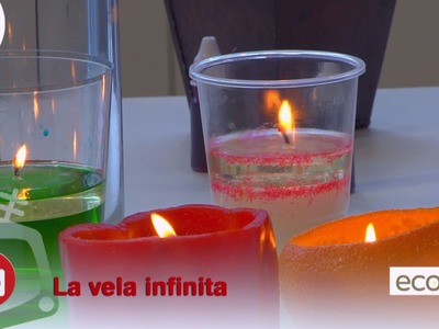 Cómo hacer una vela infinita