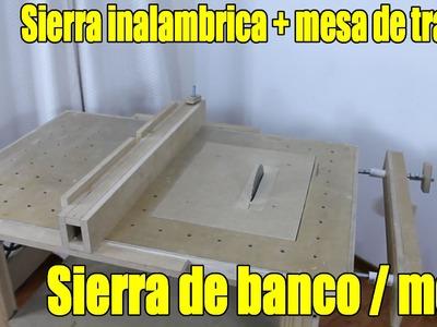 DIY Sierra de banco Parte 1.6 - Construcción version 2