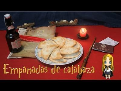 Empanada de calabaza de Harry Potter - Cocina con Ivi - Especial Halloween