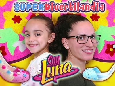 Mandala, Zapatos de Princesas y Puzzle 3D de Soy Luna. Juguetes Ravensburger! DIY para niños.