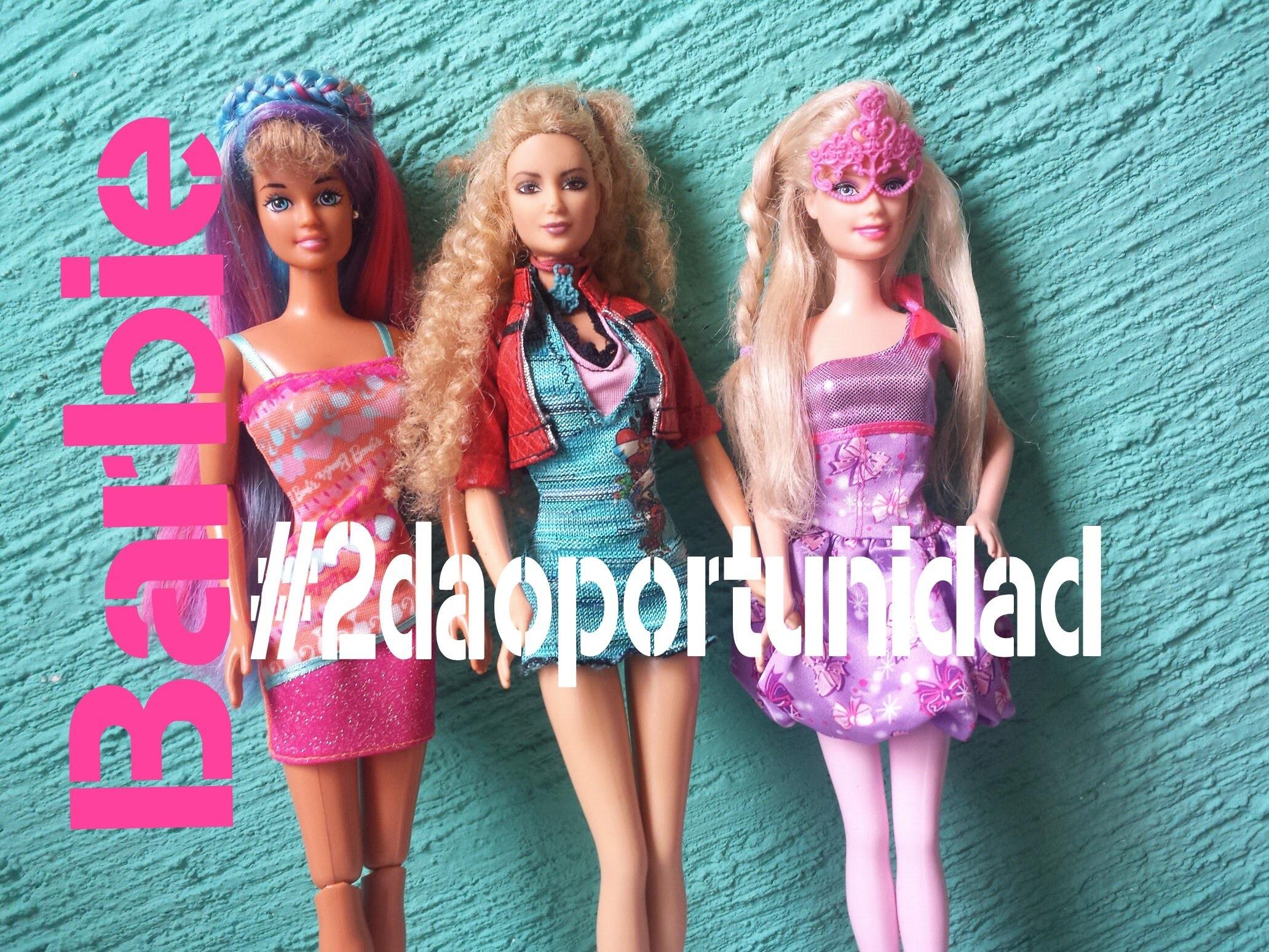 Restauración de muñecas Barbie|¿Cómo arreglar una muñeca?|Dale una #2daOportunidad