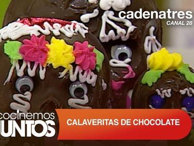 Calaveritas de chocolate. Cómo hacer calaveritas de chocolate
