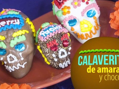 Calaveritas de Chocolate y Amaranto