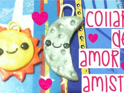 ❤Collar de Luna y Sol | Día de San Valentín❤