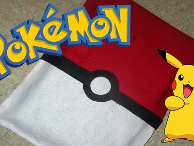 Como hacer funda para laptop Pokemon. Sin coser