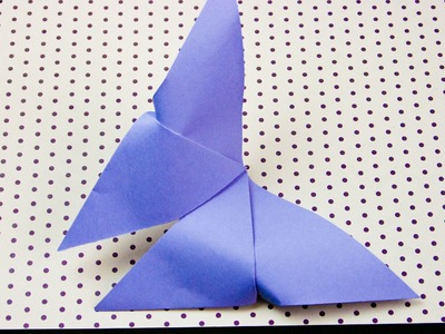 Cómo hacer una mariposa de papel origami