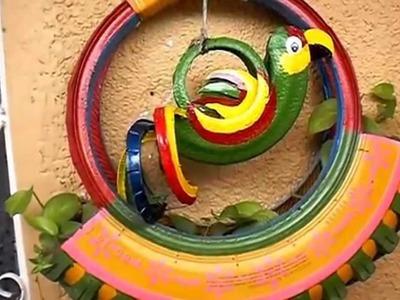 Como reciclar llantas usadas en macetas