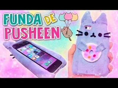 DIY KAWAII ☆ CREA TU FUNDA PARA CELULAR DE PUSHEEN ☆ CAT PUSHEEN PLUSH ☆ (FÁCIL) l Fabbi Lee