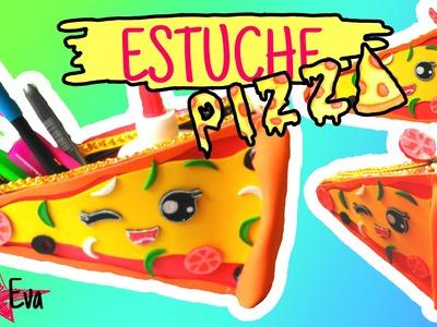 ESTUCHE PIZZA DE GOMA EVA (foamy)
